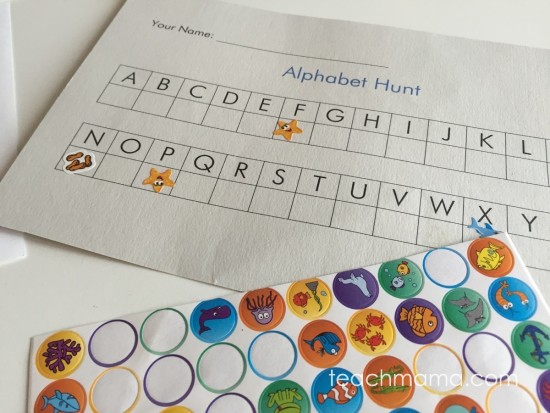 alphabet hunt: on the road abc fun