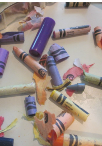 wikki sticx and crayon bits