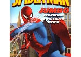spider-man activity book makeover