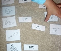 picture and word sort