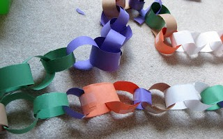 not just a plain-jane paper chain