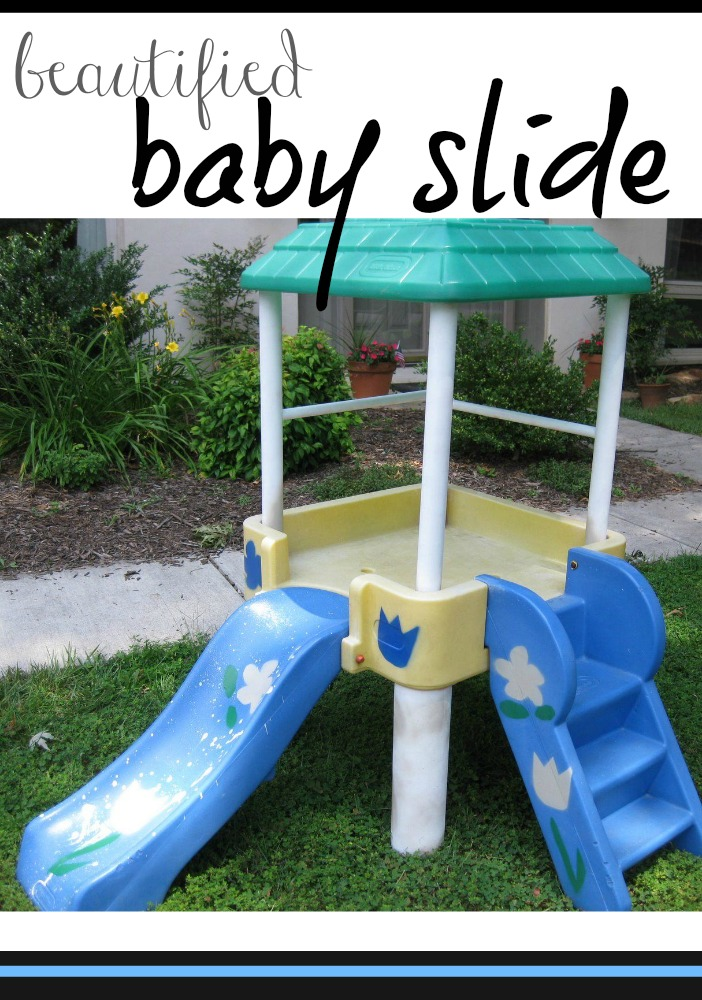 beautified baby slide