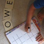 letter learning tic tac toe