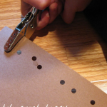 math and fine motor skill fun: hole punch happy