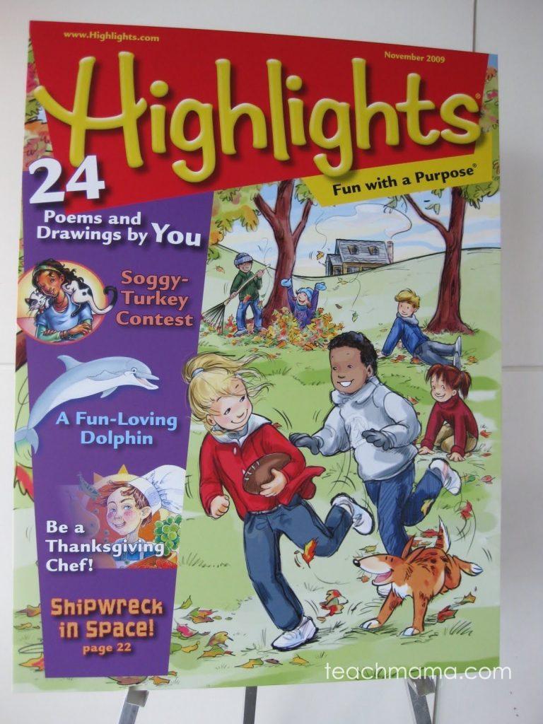 high time for magazines: Highlights for Children's High-Five Magazine   hi-five   high five middle school bethlehem pa teachmama.com