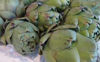 new for us friday–artichokes