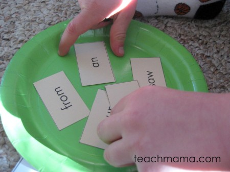 read a word, build a snowman | early literacy game | sight words | teachmama.com