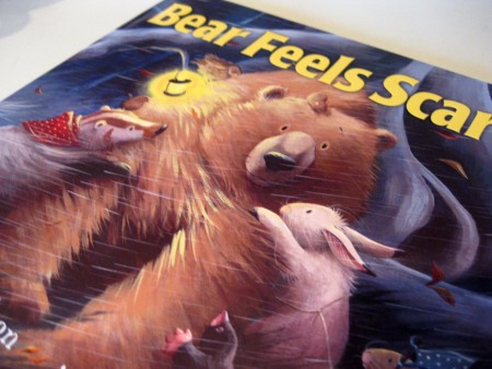 a scared and lonely bear: predicting during read-alouds