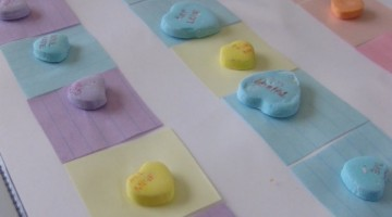 candy heart patterns