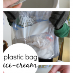 easy, homemade plastic bag ice-cream