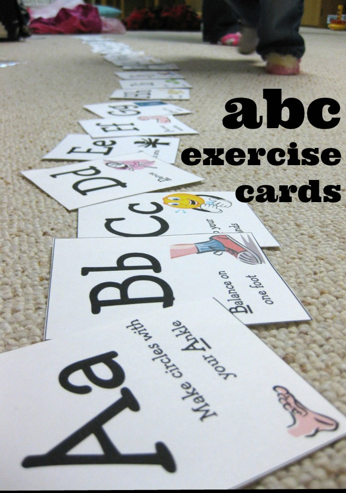 abc exercise cards