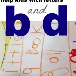 help with letters b and d
