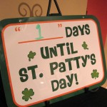 st. patty's day scavenger hunt and holiday fun