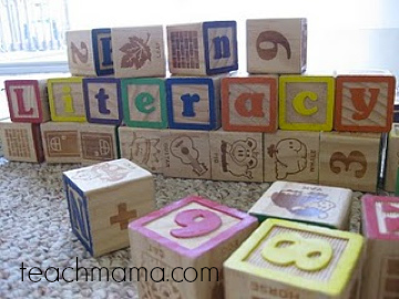 literacy terms every parent must know