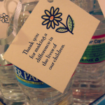 teacher appreciation week–water bottle notes