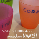 quick trick: names, names, everywhere, names!