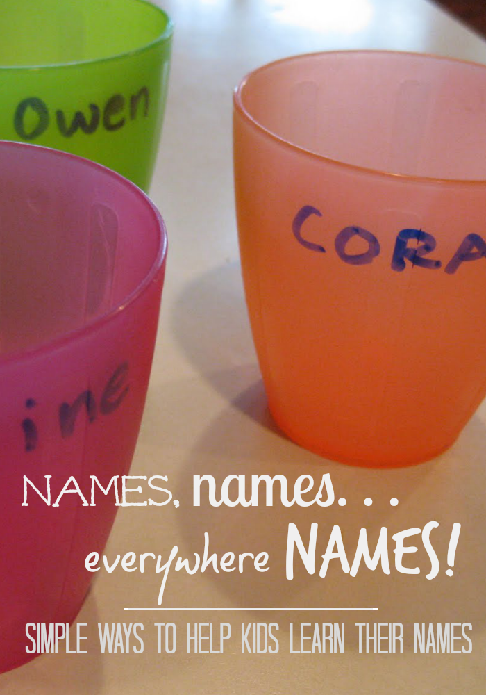 simple ways to help kids learn their names | teachmama.com