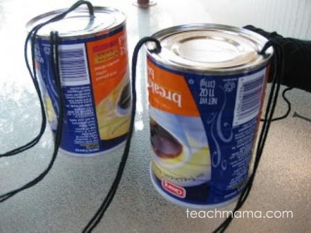 coffee can stilts | old school summer fun teachmama.com
