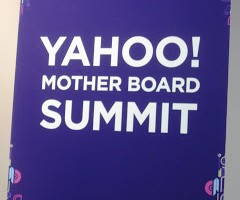 new for (me!) friday: yahoo mother board summit