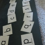 lowercase letter hunt and sort