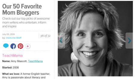 top 50 mom blogs