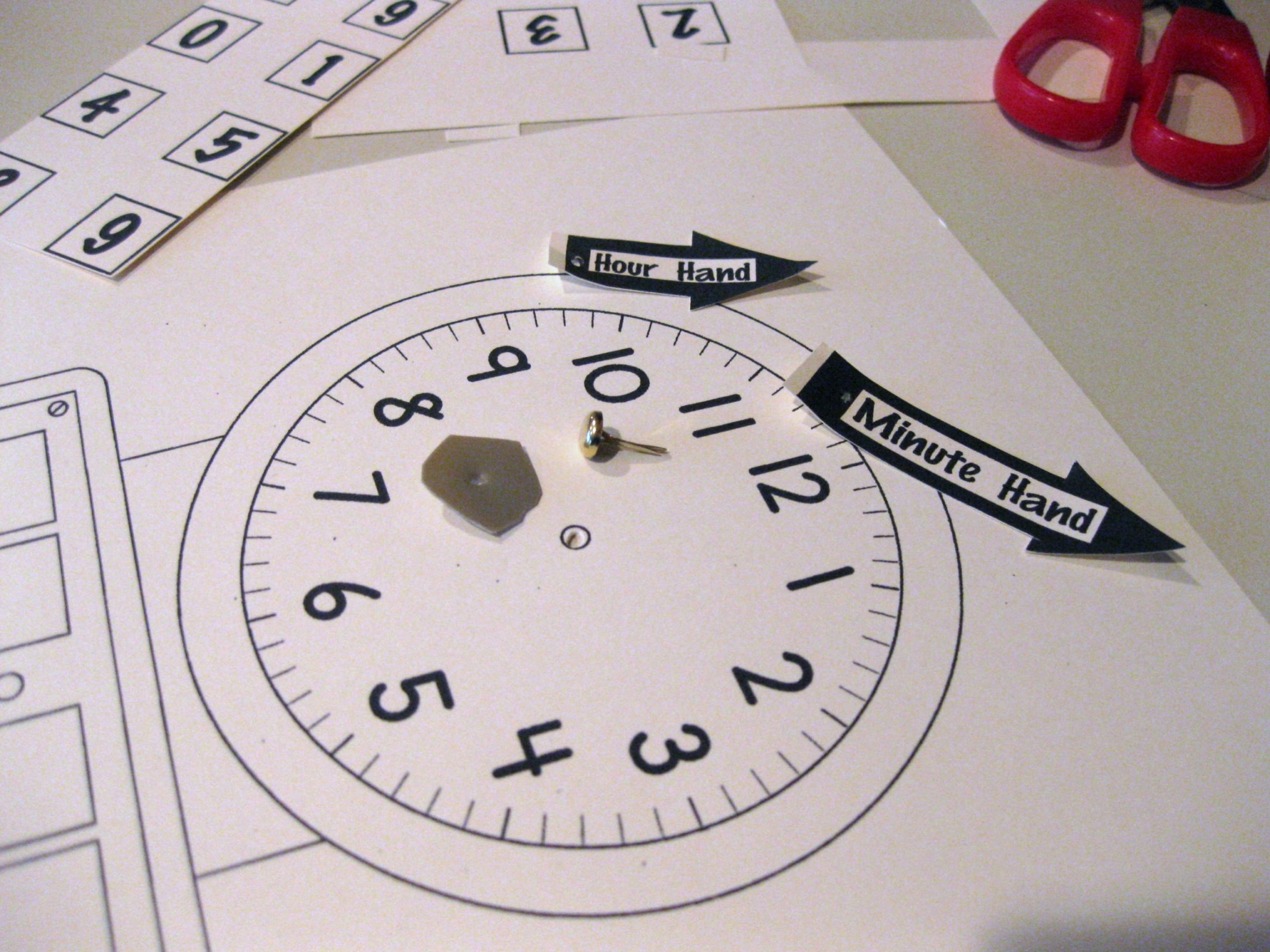Worksheet Preschool Clock Activities the terrific task of teaching kids how to tell time teach mama clock before it got its hands