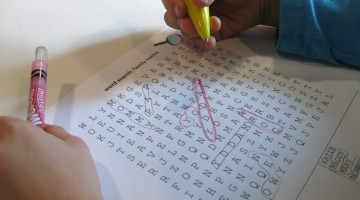 word searches for early literacy learning
