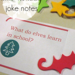 little holiday notes and lunchbox jokes