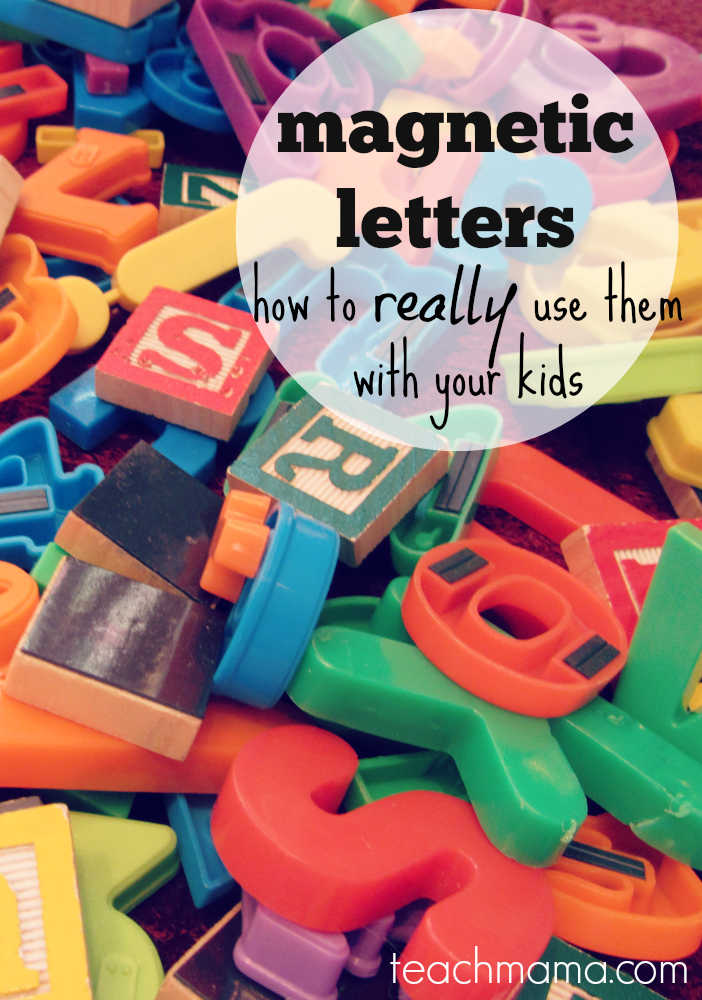 magnetic letters: how to really use them with your kids for early literacy learning | teachmama.com