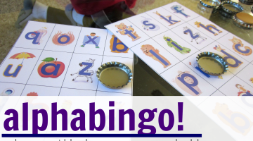 alphabingo: playing with lowercase letters