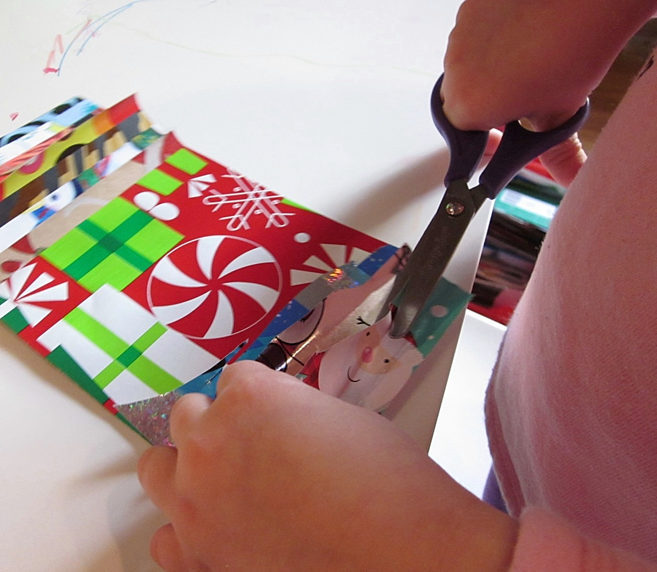 scissor practice for preschoolers: fine motor fun! - teach mama