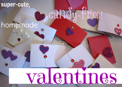 easy, super-cute homemade valentines (with tattoos!)