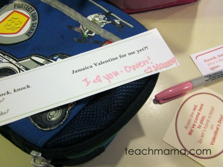 valentines day joke notes | free printables on teachmama.com