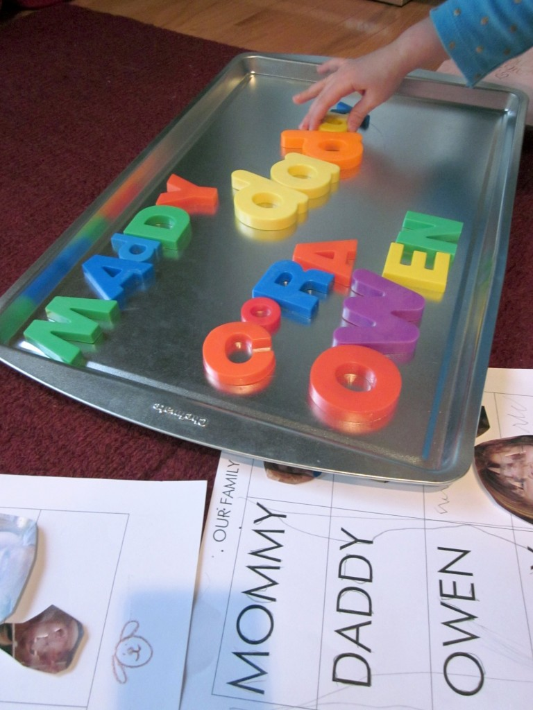 building words, family names (4)