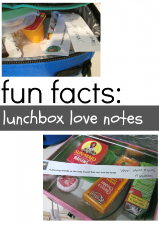 new for us friday: fun fact lunchbox notes! (& link-up!)