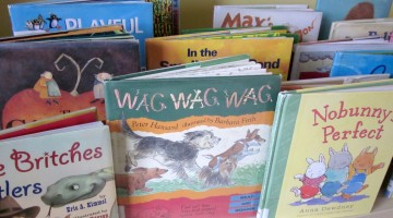 quick trick: library book parade