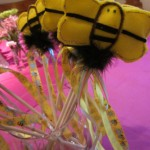 bumblebee birthday ideas: bumblebee wands, pens, games