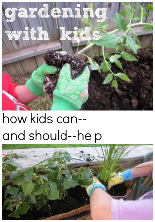 how kids can–and should–help with gardening