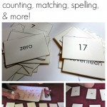 playing with numbers: counting, matching, spelling, and more!