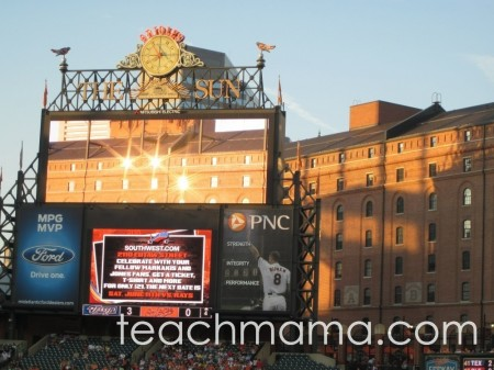 learning at baseball games | teachmama.com blank