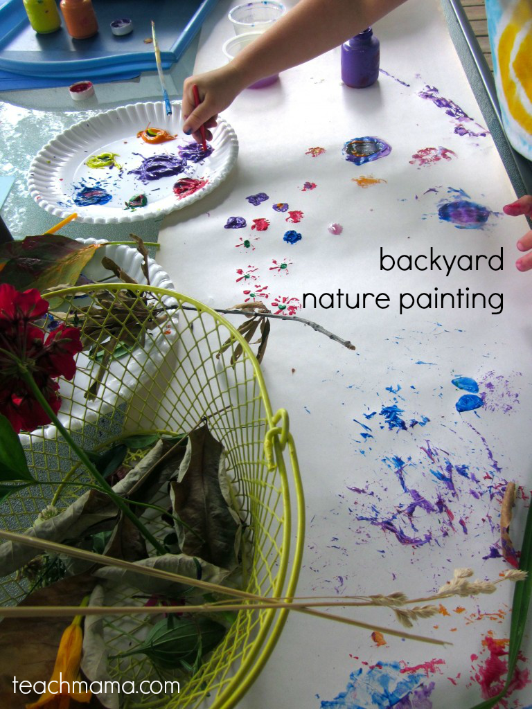 nature painting | teachmama.com