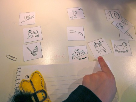 getting ready for kindergarten: short e picture-word sort