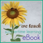 summertime learning eBook: free and filled with fun ideas!
