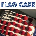 happy july 4th flag cake (gloriously gluten-free!)