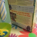 breakfast time reading: cereal boxes and more