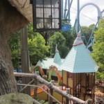 busch gardens with kids and yankee candle candle-making