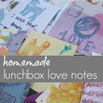 homemade back-to-school lunchbox notes