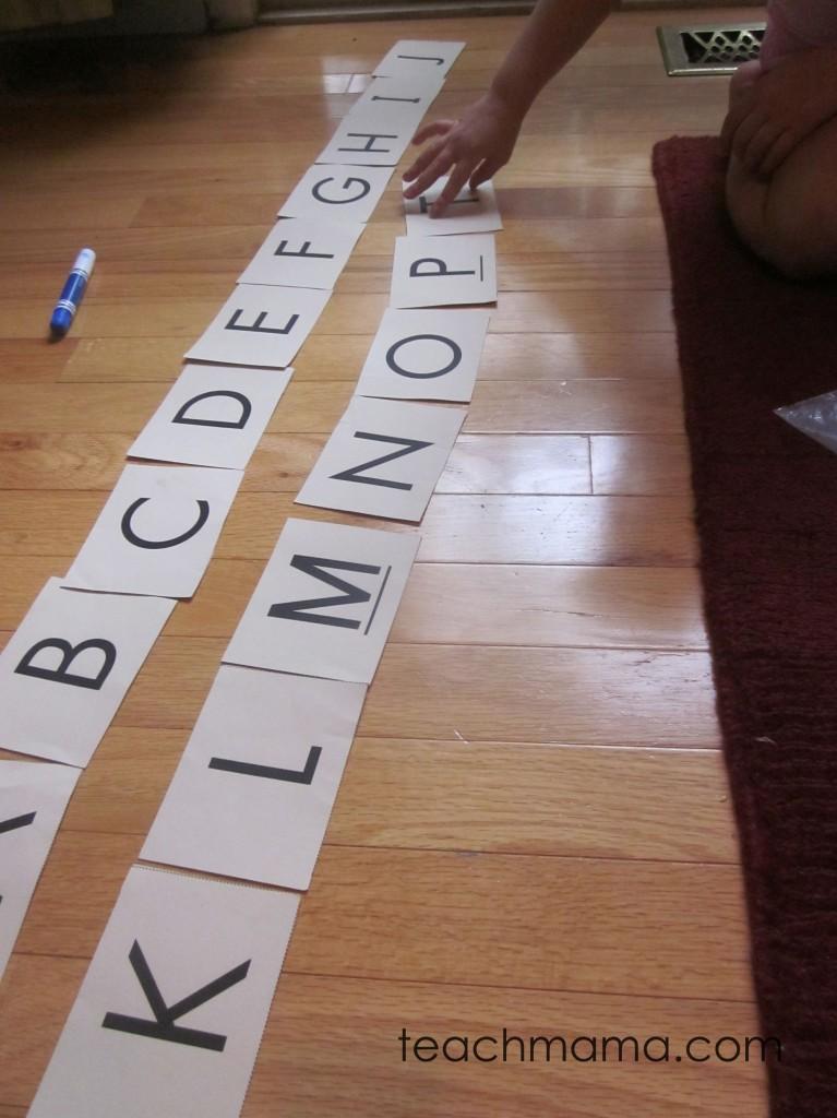 spelling word fun alphabet