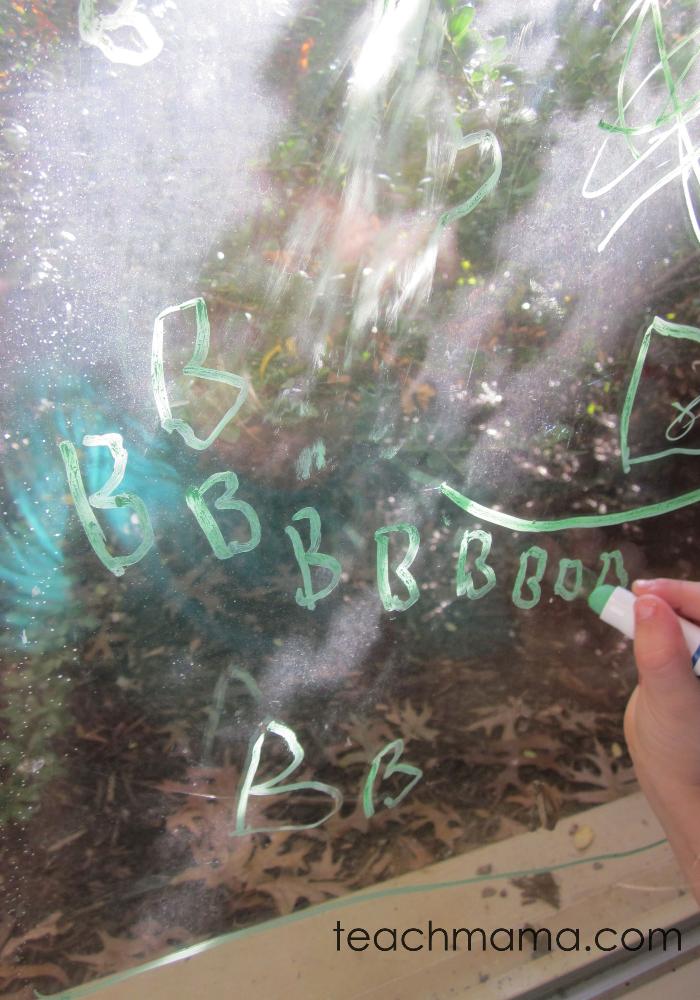 window writing word spelling | teachmama.com
