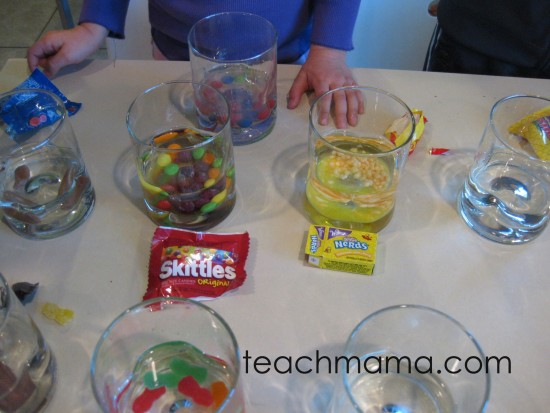 how to use halloween candy for fun learning